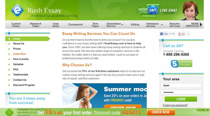 012 Rushessay Rush Essay Surprising Reddit Discount Code My Essay.com 868