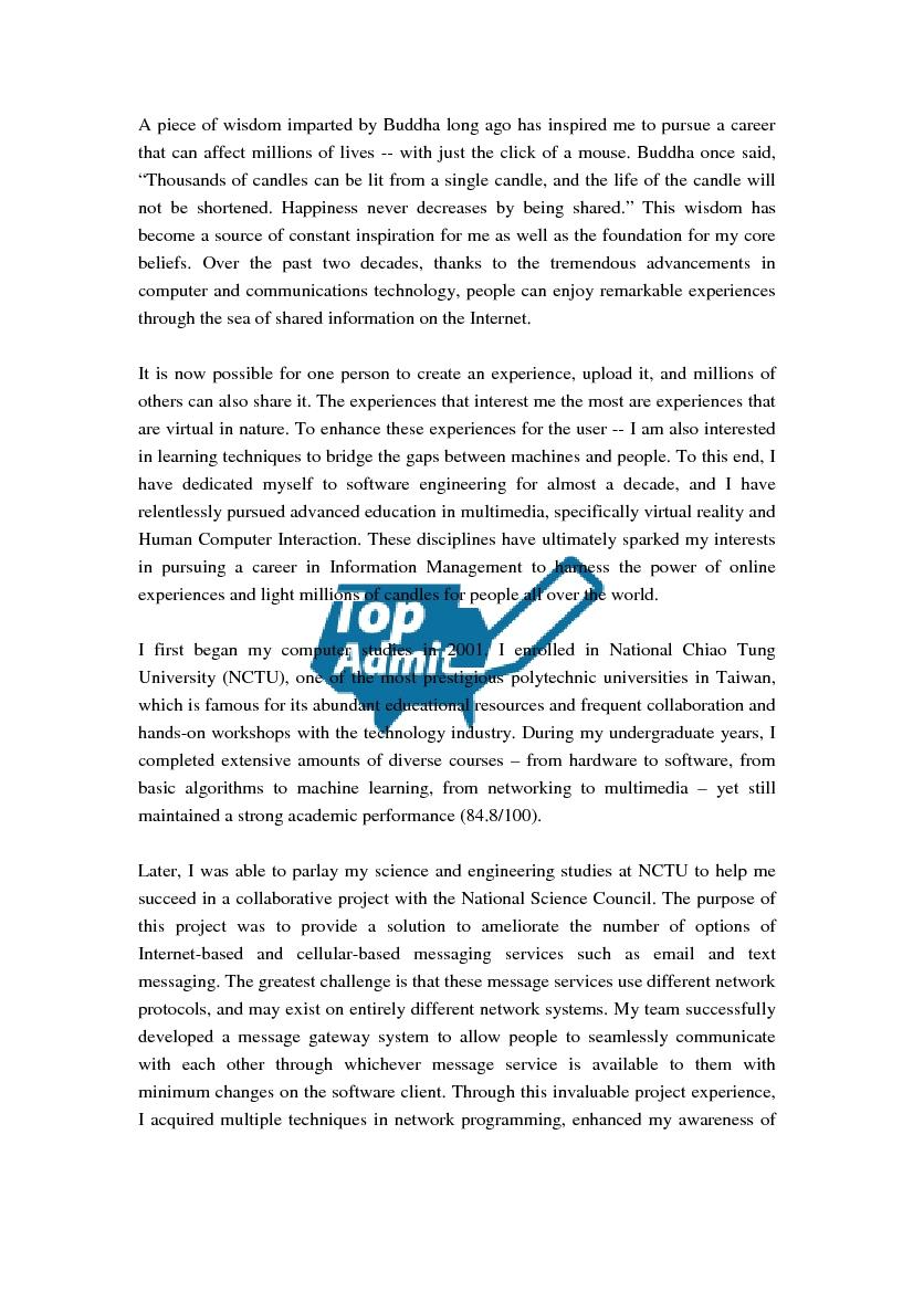 012 Statement Of Purpose Sample Essays Vkg2juv Essay Fearsome Graduate School Education Psychology Mba Full