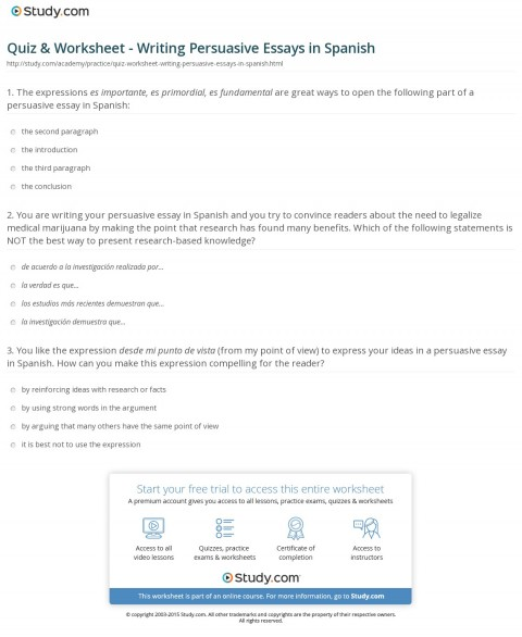 013 Persuasive Essay Example High School Writings And