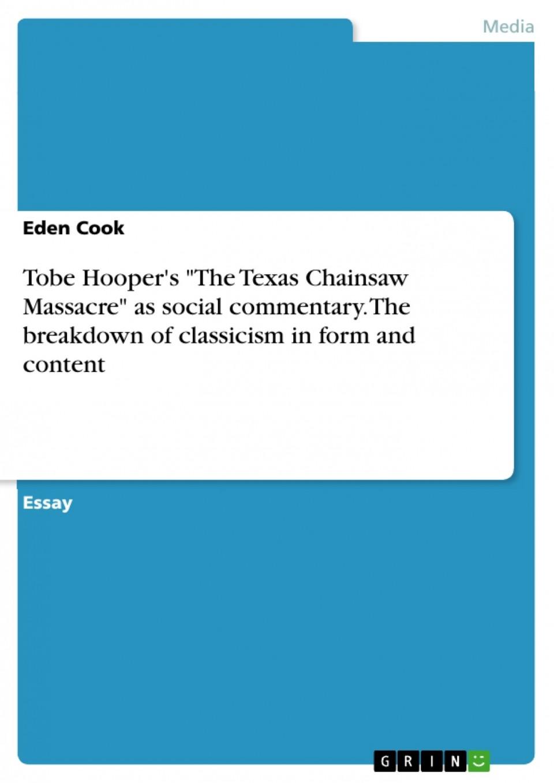 Social commentary essay