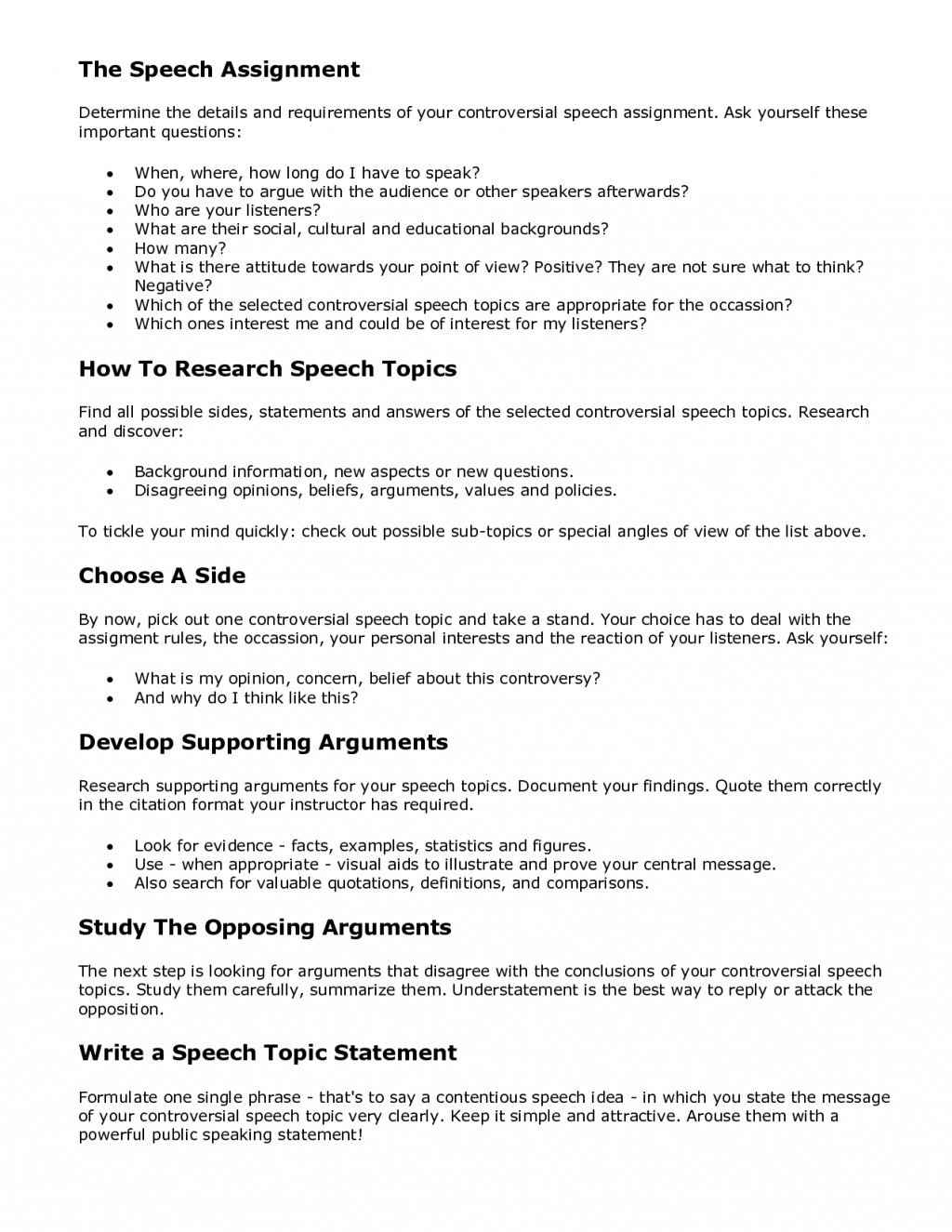 013 Controversial Argumentative Essay Topics Example Funny Persuasive Excellent Non Current Large