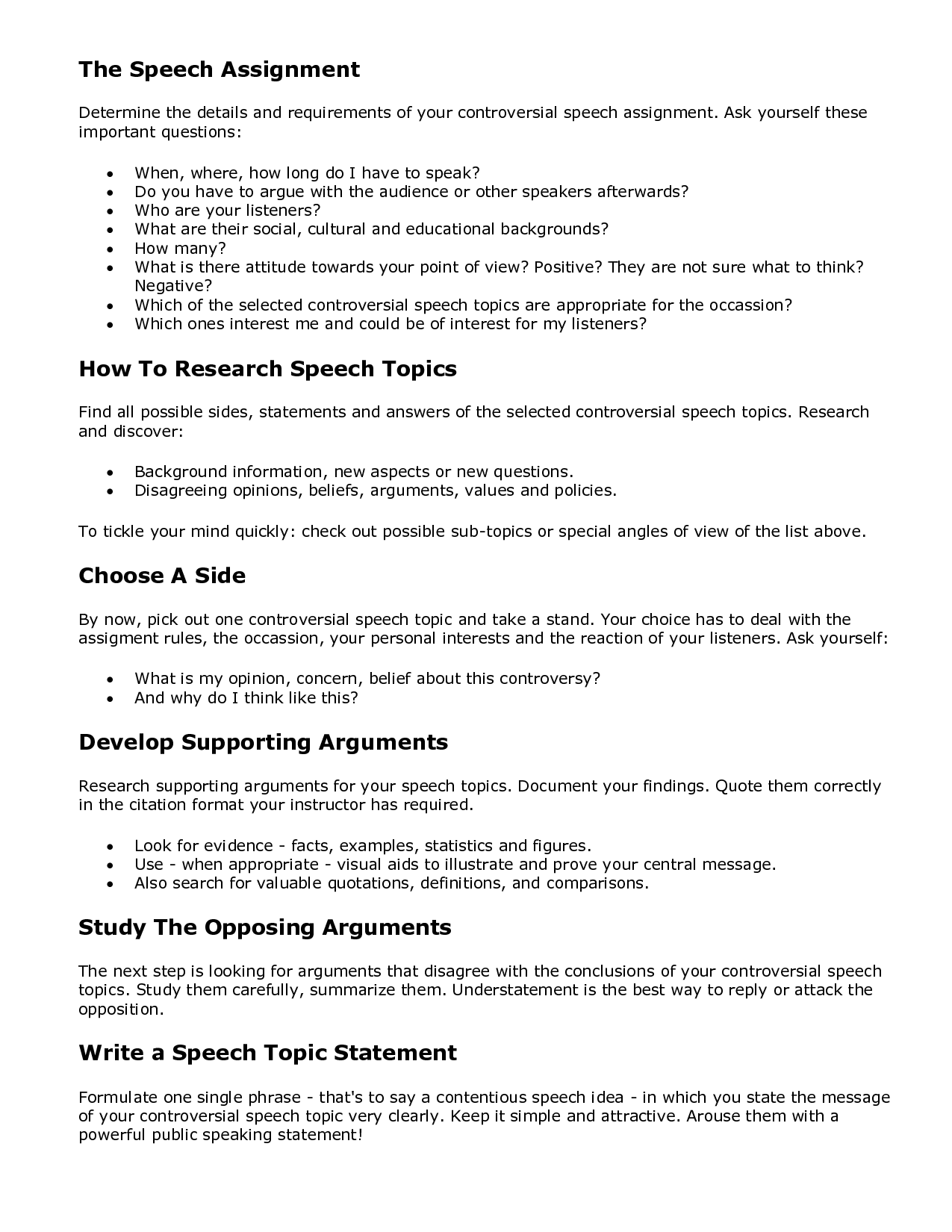 013 Controversial Argumentative Essay Topics Example Funny Persuasive Excellent Non Current Full