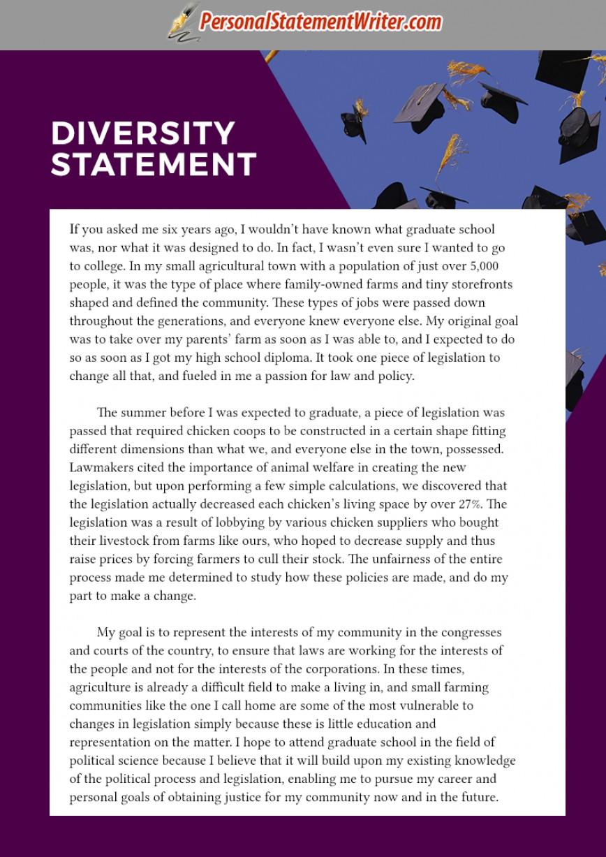 Diversity college essay
