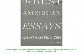 013 Download The Best American Essays Pdf Epub Audiobook Ebook Thumbnail Essay Striking 2017 Submissions 2019 Of Century Table Contents