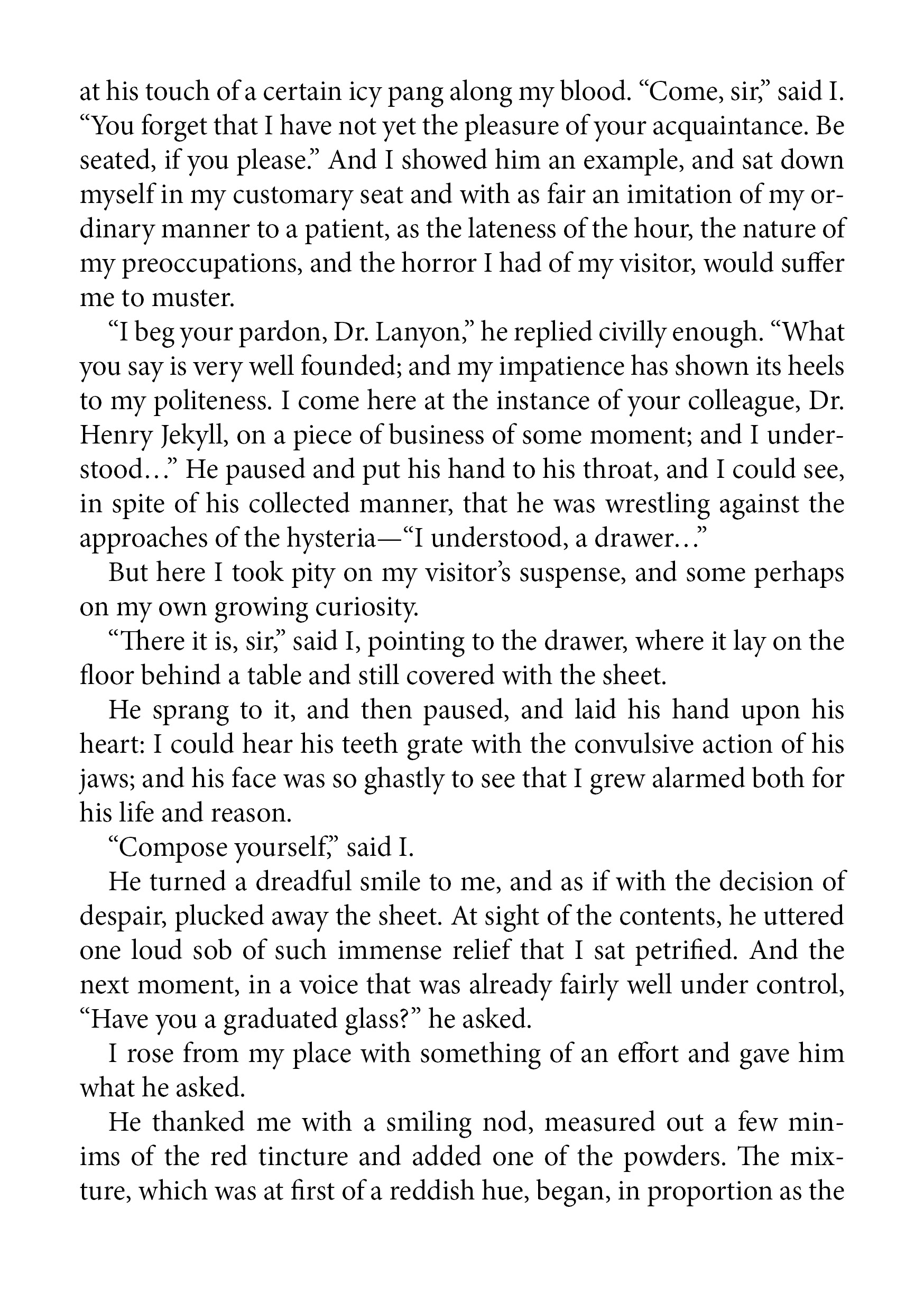 013 Dr  Jekyll And Mr Hyde Text One Paragraph Essay Awesome About Dwarfism TopicsFull