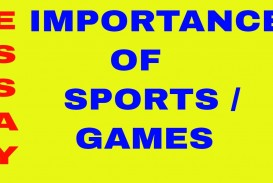 013 Essay About Sports Maxresdefault Awesome And Games Narrative Sportsfest Argumentative Sportsmanship