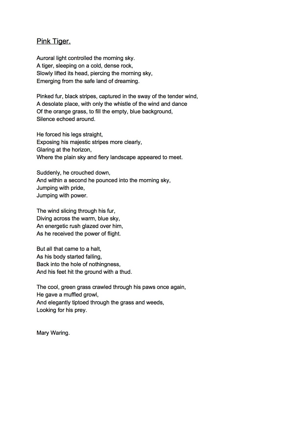 Reflective essay nursing practice