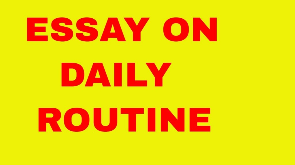013 Essay Daily Example Unique On Routine Of Housewife June 21 My Life Large
