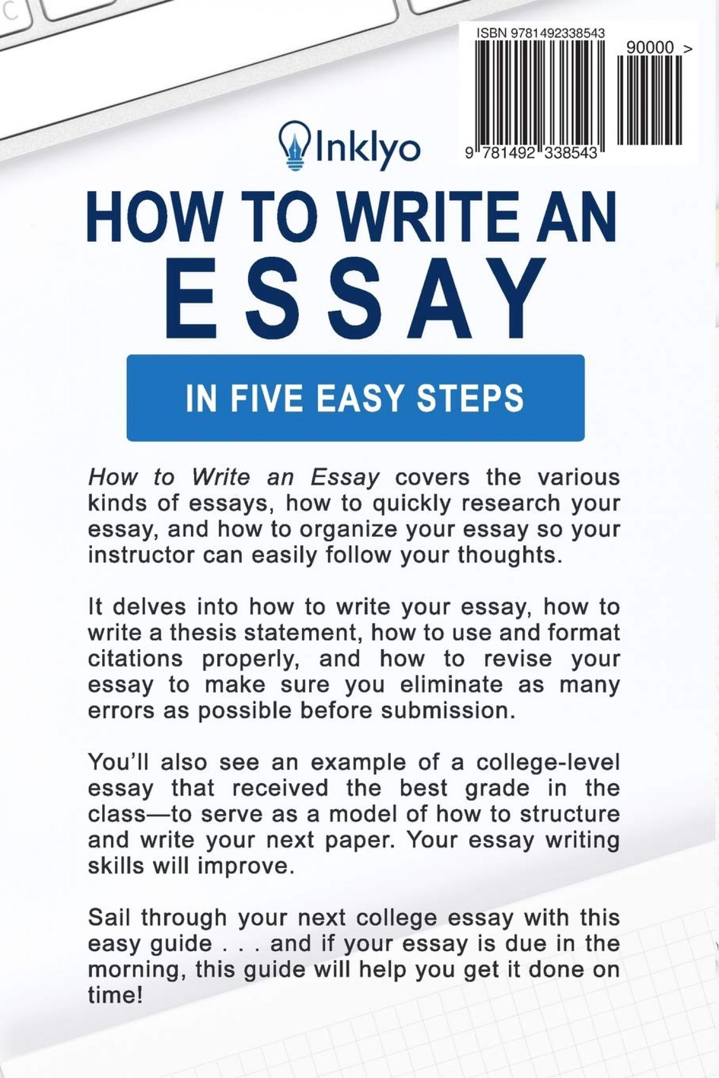 013 Essay Example 71v7ckw5pll Writing Striking A Creative About Yourself College Outline 5 Steps To 1400