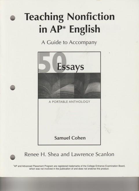 013 Essay Example 81qzov2hjtl Essays Portable Anthology 4th Edition Awful 50 A Pdf Free 480