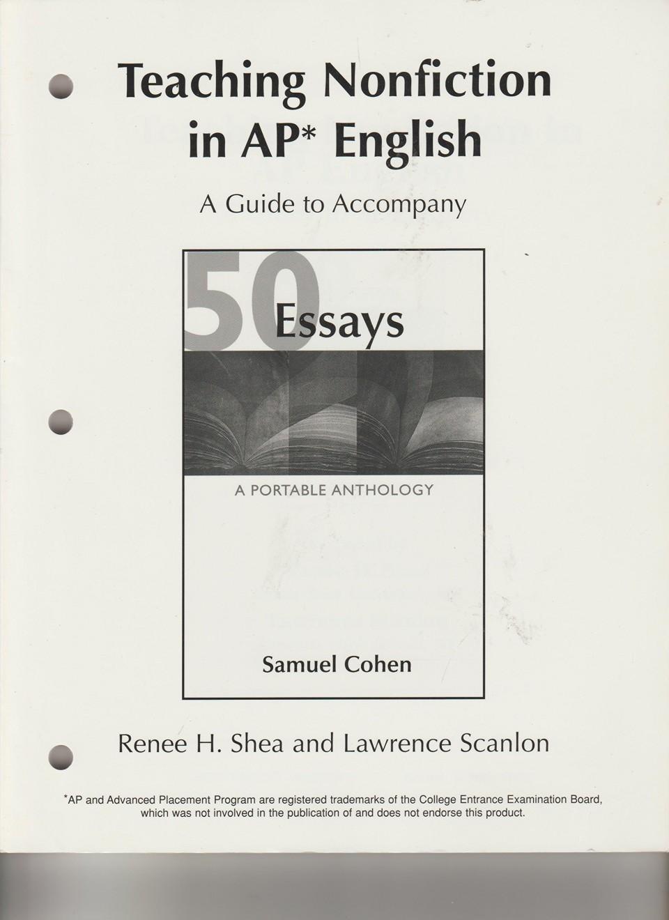 013 Essay Example 81qzov2hjtl Essays Portable Anthology 4th Edition Awful 50 A Pdf Free 960