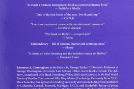 013 Essay Example 81z9x1cvopl The Essays Of Warren Buffett Lessons For Corporate Remarkable America Third Edition 3rd Second Pdf Audio Book