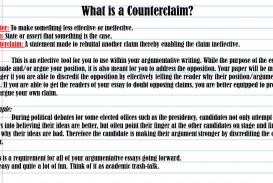 013 Essay Example An Effective Claim For Argumentative Is Whatisacounterclaimcounter3atomakesomethinglesseffectiveorineffective Wondrous Which Statement Of Brainly Quizlet