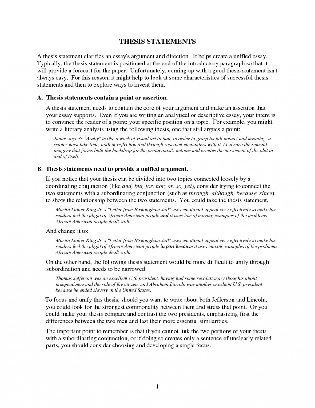 013 Essay Example An Effective Thesis In Argumentative Frightening Must I Present Both Sides Of The Issue Brainly Large