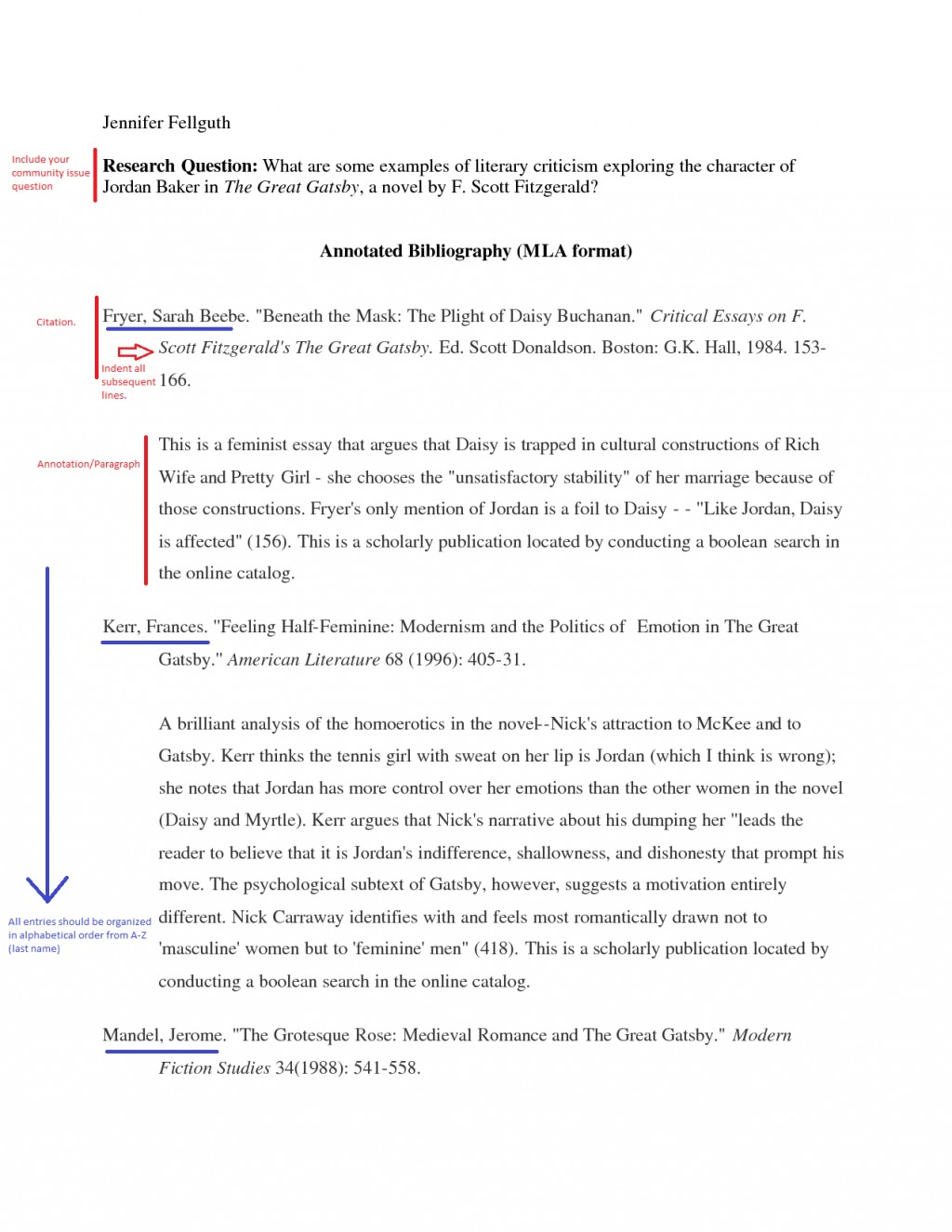 013 Essay Example Annotatedbibsampleannotated Compare And Contrast Outline Magnificent Template Comparison Sample Block Format Large