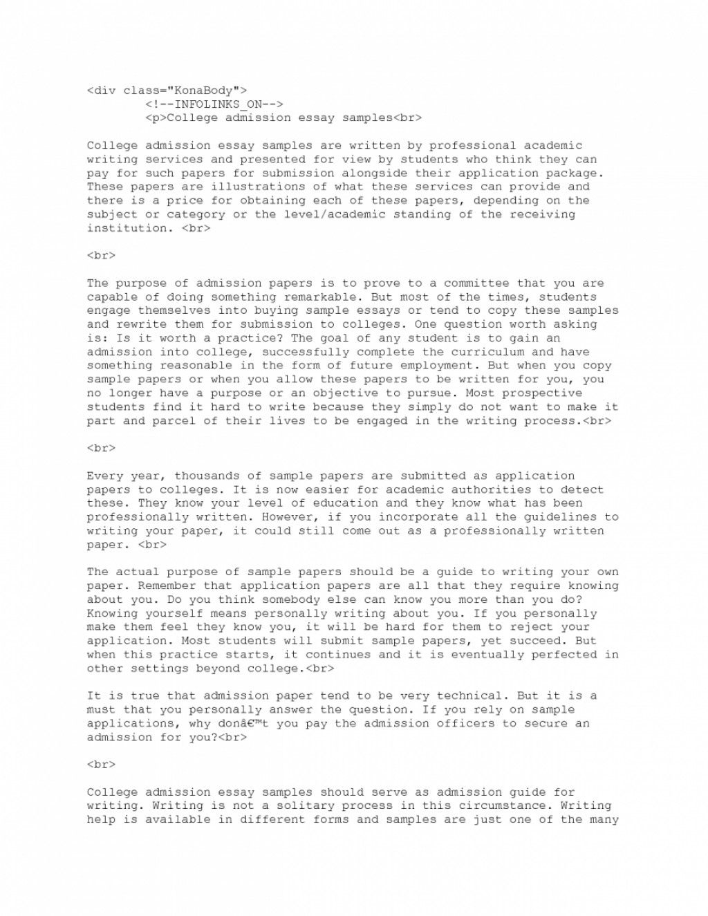 013 Essay Example College Admission 2319251278 Application Writing Rare Prompts Format Examples Ivy League Large