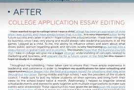 013 Essay Example Editing After College Unusual Service Application Services Free