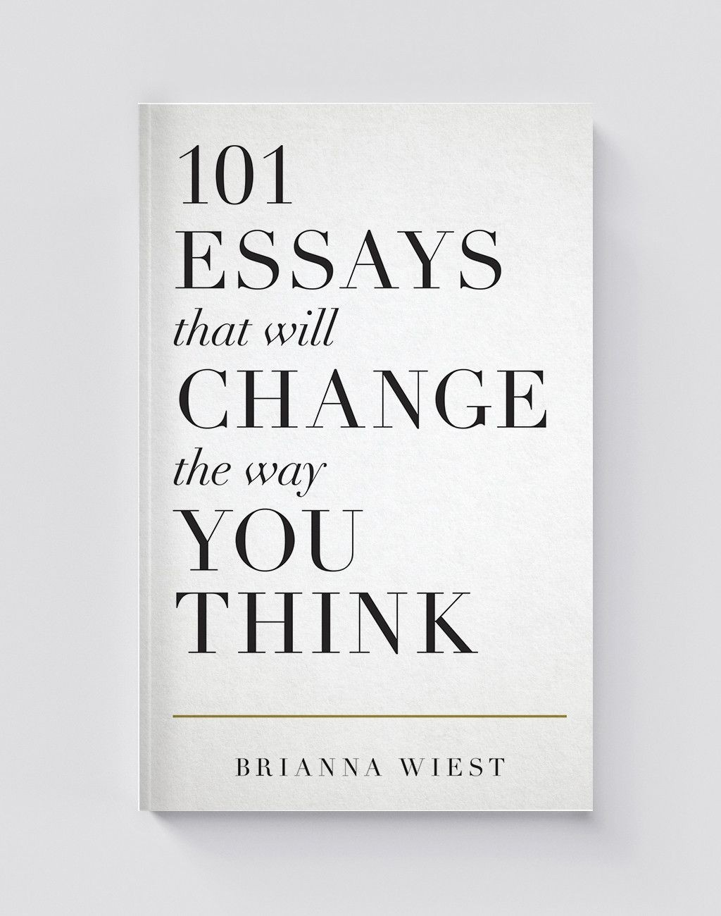013 Essay Example Essays That Will Change The Way You Think Unusual 101 Book Depository Barnes And Noble Review Large
