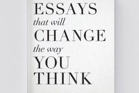 013 Essay Example Essays That Will Change The Way You Think Unusual 101 Book Depository Barnes And Noble Review