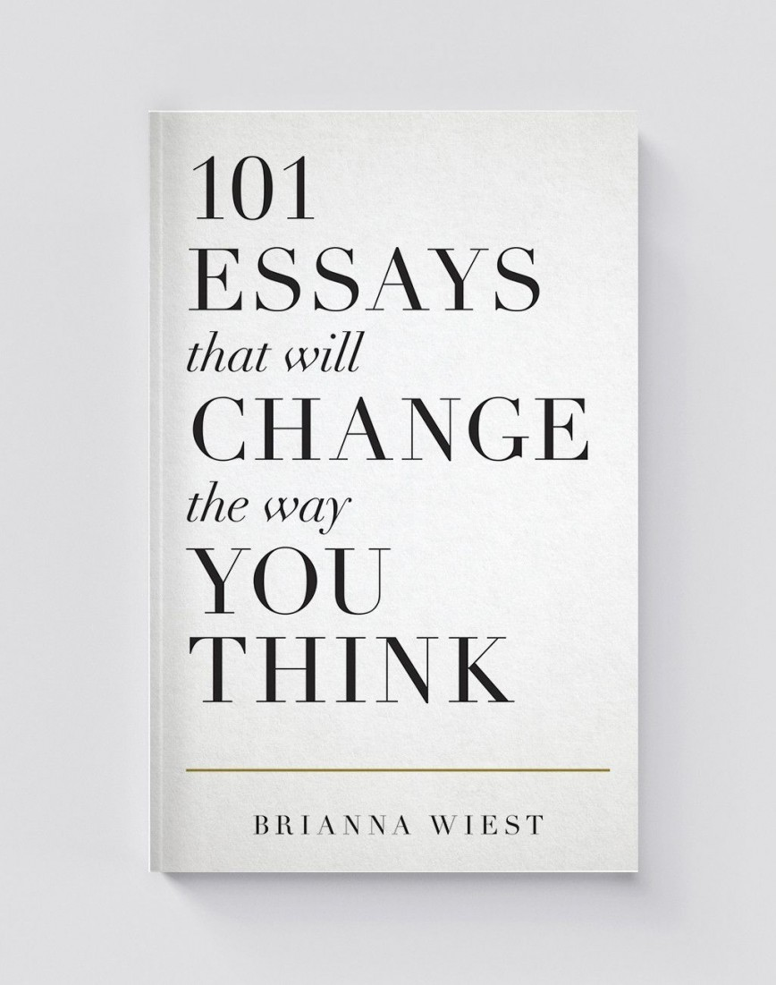 013 Essay Example Essays That Will Change The Way You Think Unusual 101 Ebay Book National Bookstore