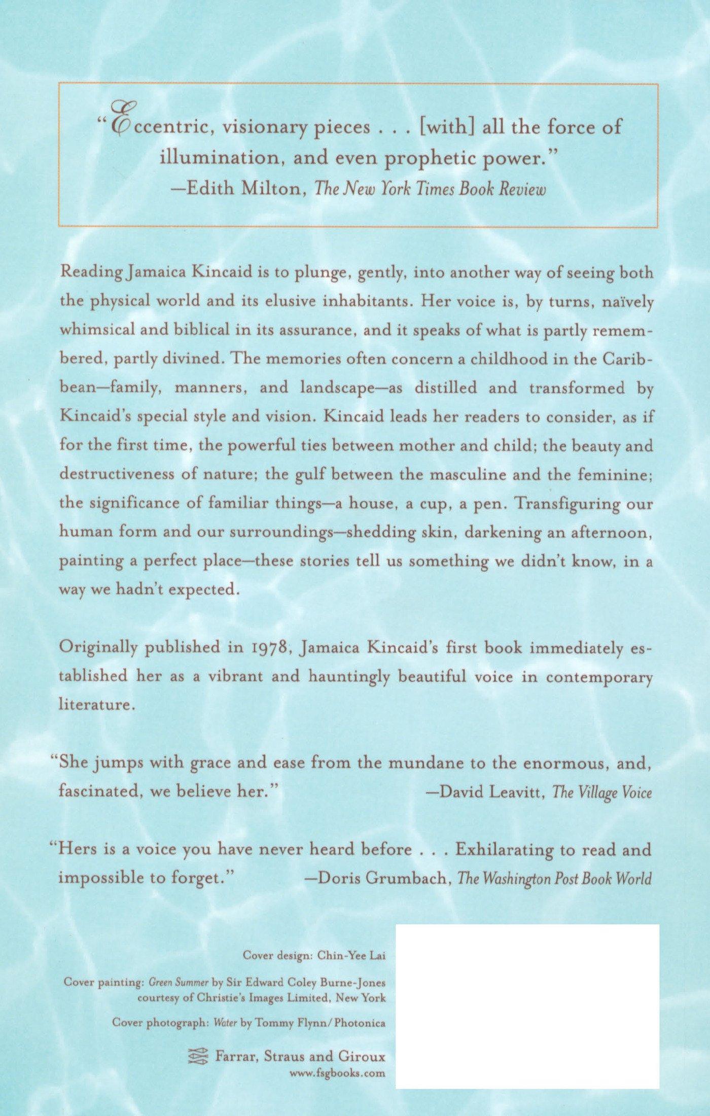 013 Essay Example Girl By Jamaica Kincaid Marvelous Full