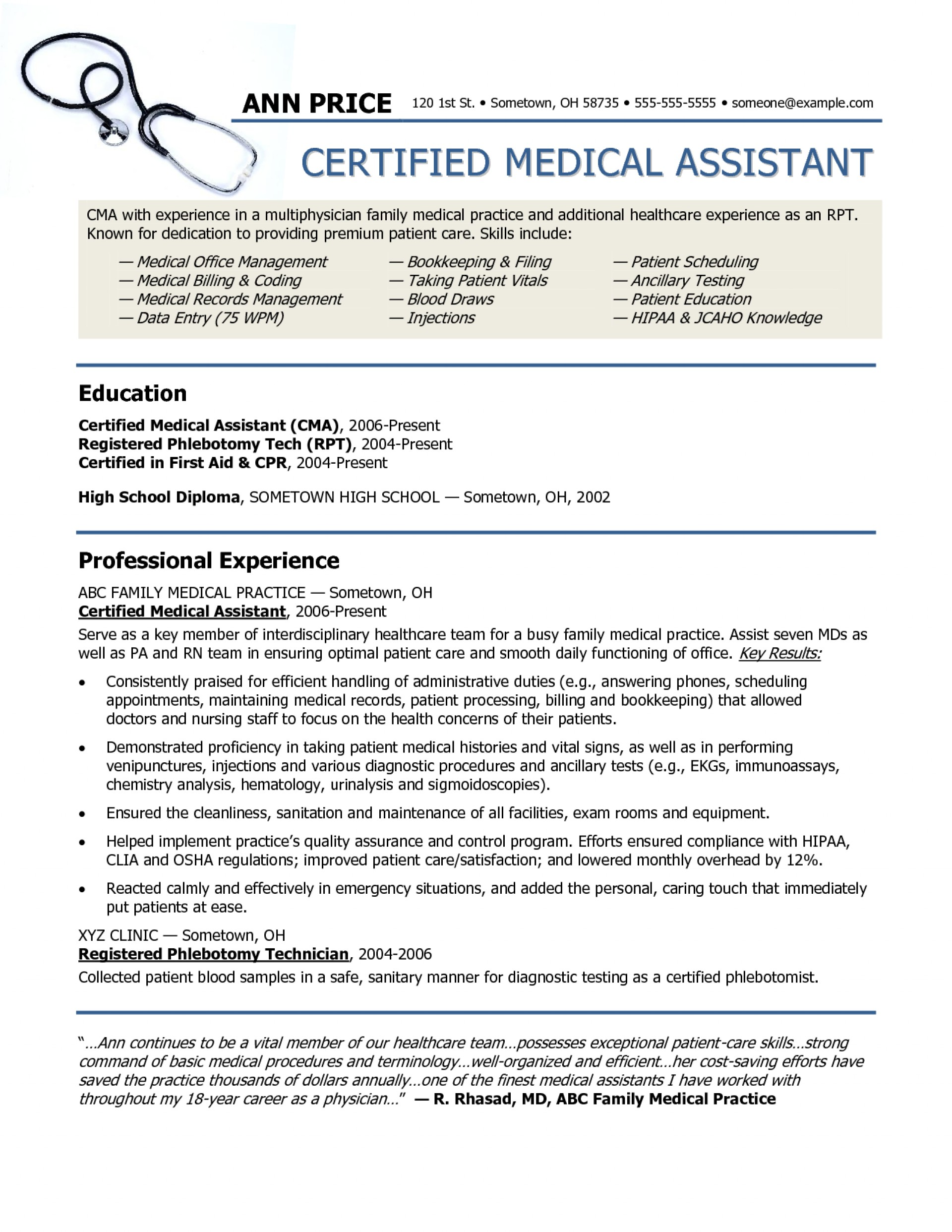 013 Essay Example Hipaa Sample Resume For Medical Archaicawful 1920