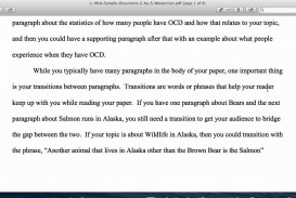 013 Essay Example How To Start Off Body Paragraph In An Impressive A The First Words
