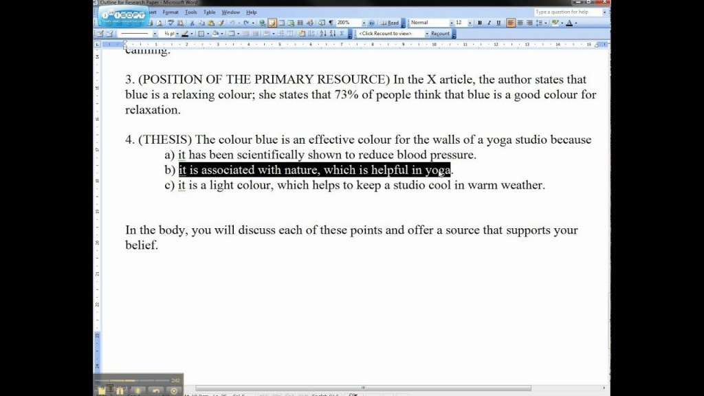 013 Essay Example How To Write Thesis For An Unique A Statement Exploratory Opinion Informative Large