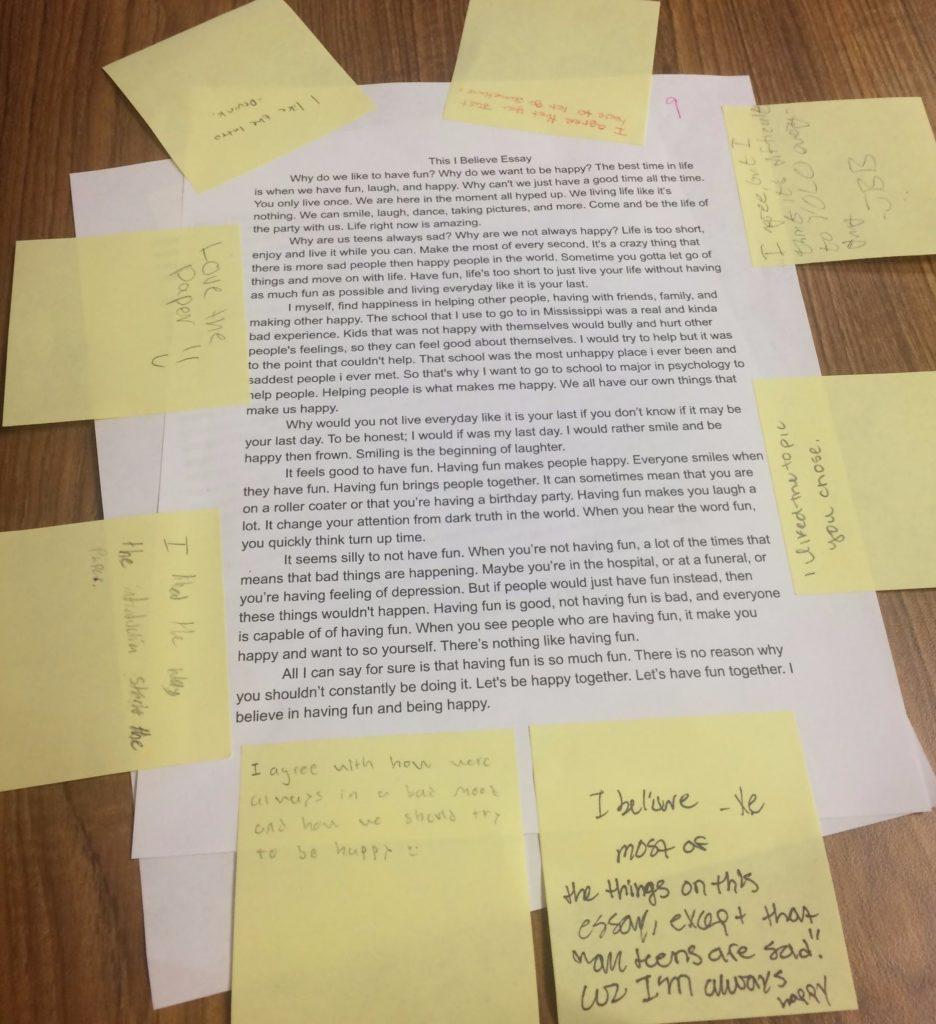 013 Essay Example I Believe Impressive This Examples College Rubric Format Full