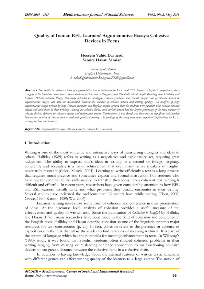 013 Essay Example Largepreview Which List Best Describes The Organization Of An Fearsome Argumentative Brainly