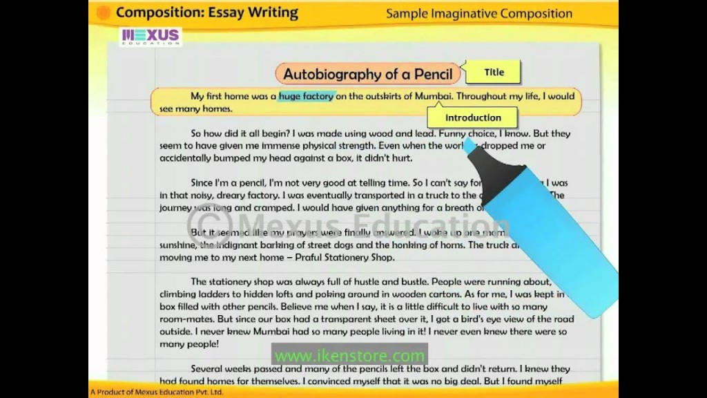 013 Essay Example Maxresdefault Introduce Yourself Sample Dreaded 100 Words Large