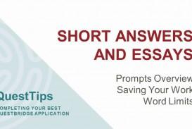 013 Essay Example Maxresdefault Questbridge Stirring Essays Examples Finalist National College Match Prompts