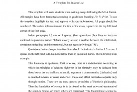013 Essay Example Mla Format Narrative Template Staggering