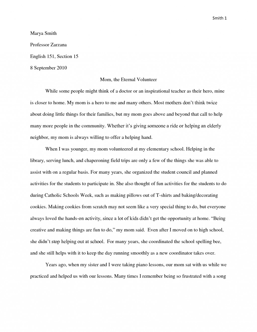 013 Essay Example Mom Hero Essays Template Heroism About My Moment Of Pain And Regret Short Descriptive Expository Role Model Examples An Narrative Tribute Samples Narative Is Remarkable Mother Contest 2017 Large