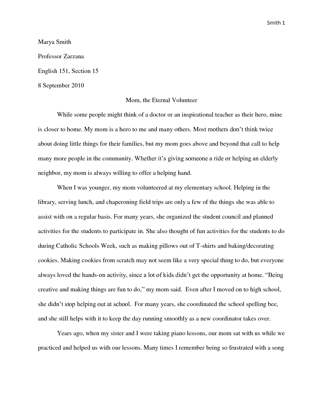 013 Essay Example Mom Hero Essays Template Heroism About My Moment Of Pain And Regret Short Descriptive Expository Role Model Examples An Narrative Tribute Samples Narative Is Remarkable Mother Contest 2017 Full