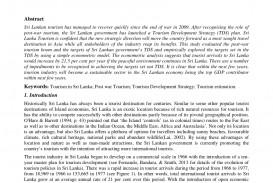 013 Essay Example Natural Resources In Sri Lanka Fantastic