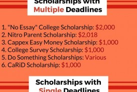 013 Essay Example No Exceptional Scholarships For Undergraduates High School Seniors College Students 2019