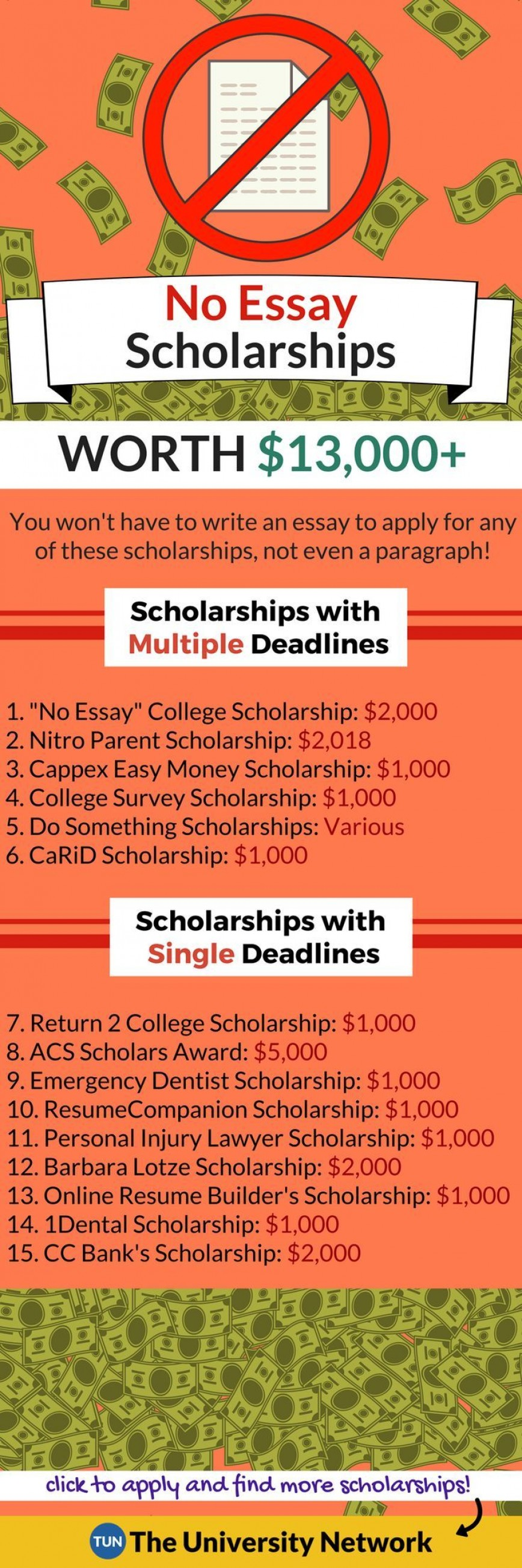 013 Essay Example No Exceptional Scholarships For Undergraduates College Students 2019 868