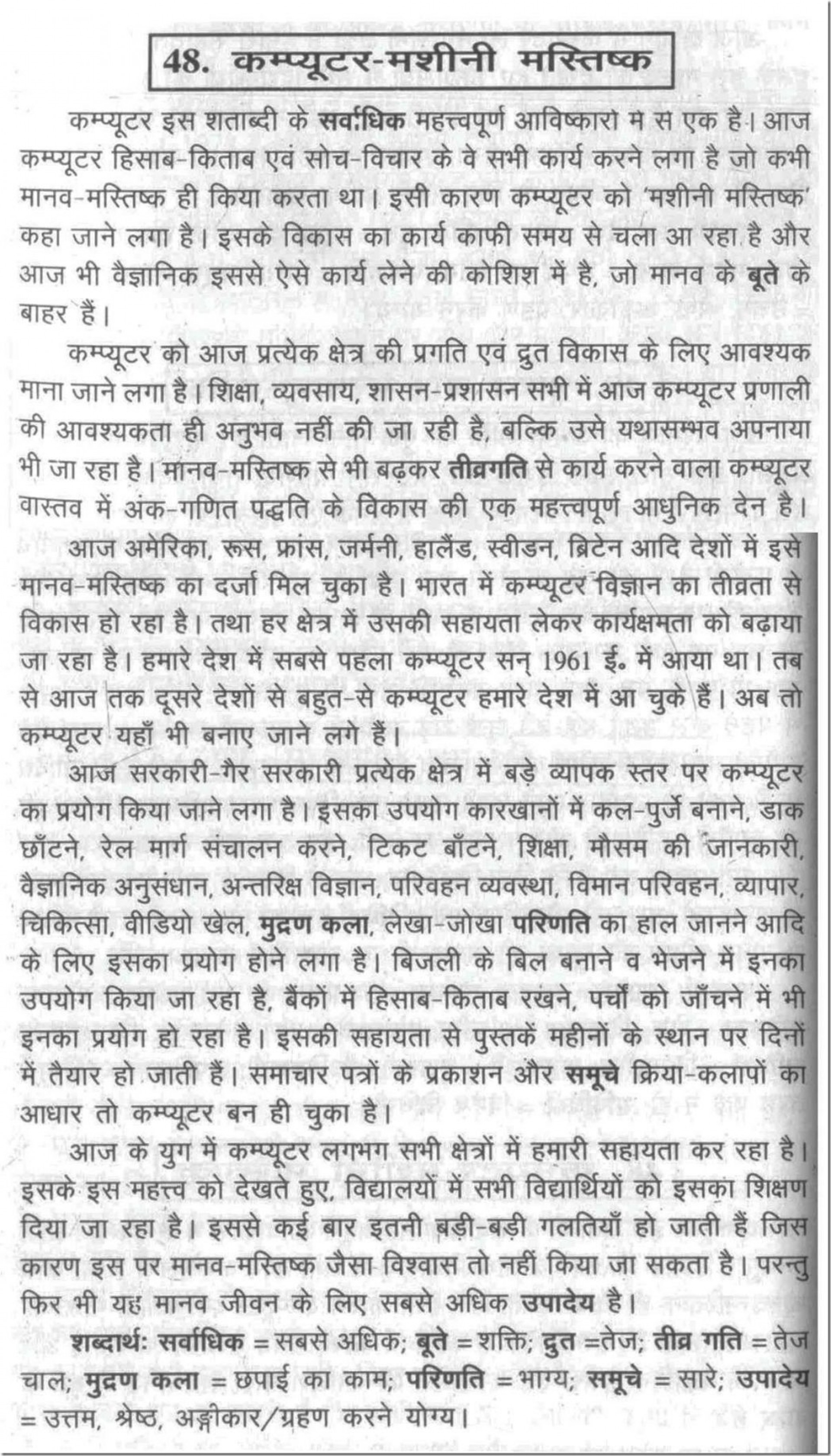 013 Essay Example On Computer Buying Sample Of Argumentative Buy Writing 100048 Fearsome Science In Hindi Urdu 1920