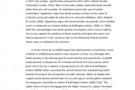 013 Essay Example On Death Penalty Elcpositionessay Lva1 App6891 Thumbnail Beautiful Should Be Abolished Or Not In Hindi