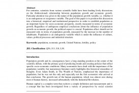 013 Essay Example On Population Impressive Control Explosion In Kannada Pakistan