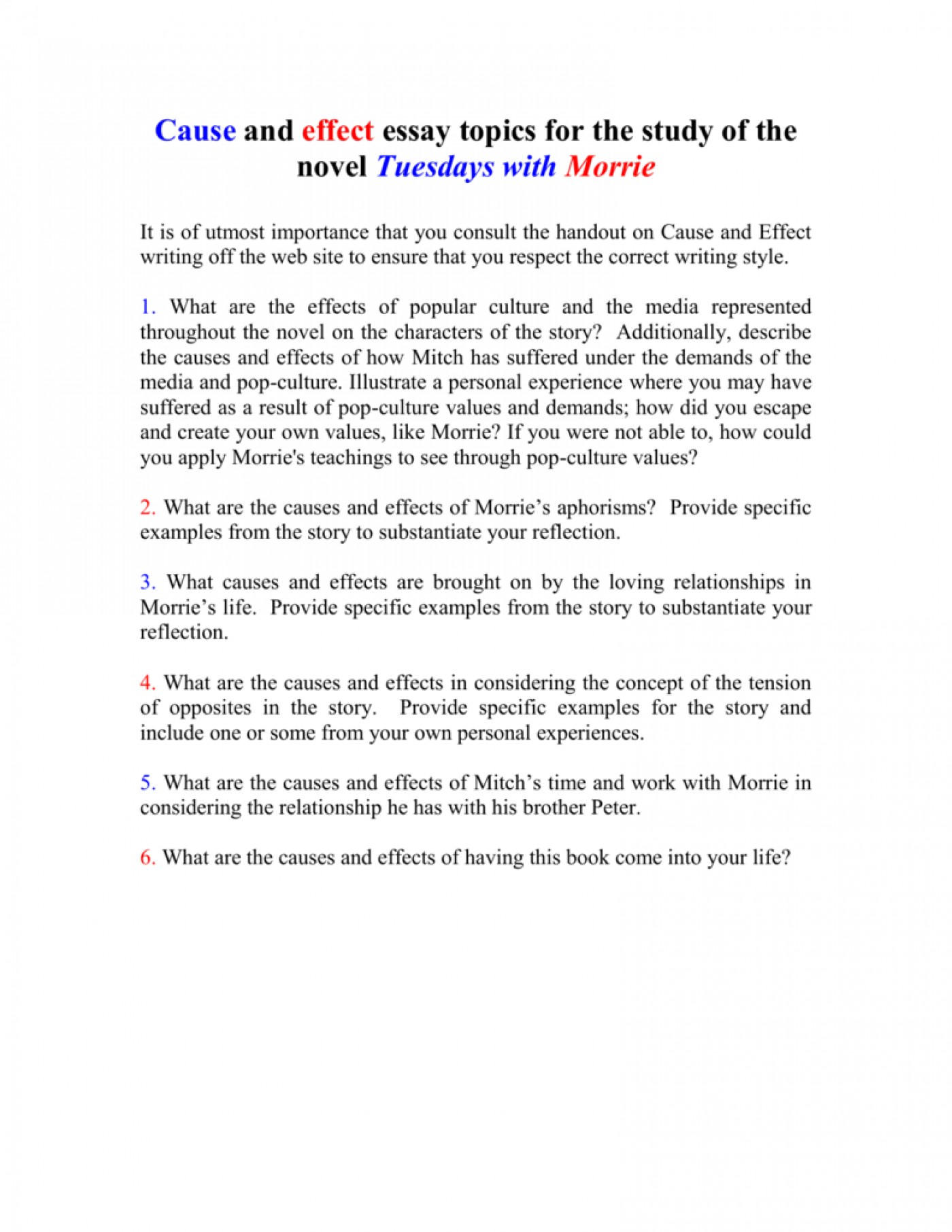 013 Essay Example On Tuesdays With Morrie 008010712 1 Unusual Analytical Reflection Paper Argumentative 1400