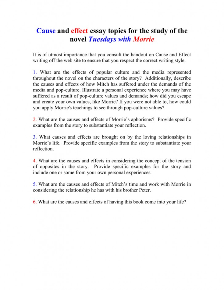 013 Essay Example On Tuesdays With Morrie 008010712 1 Unusual Analytical Reflection Paper Argumentative 728