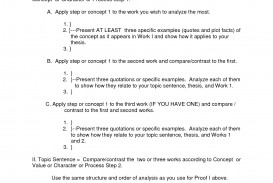 013 Essay Example Outline Format 2 Compare And Contrast Stupendous Structure Ppt