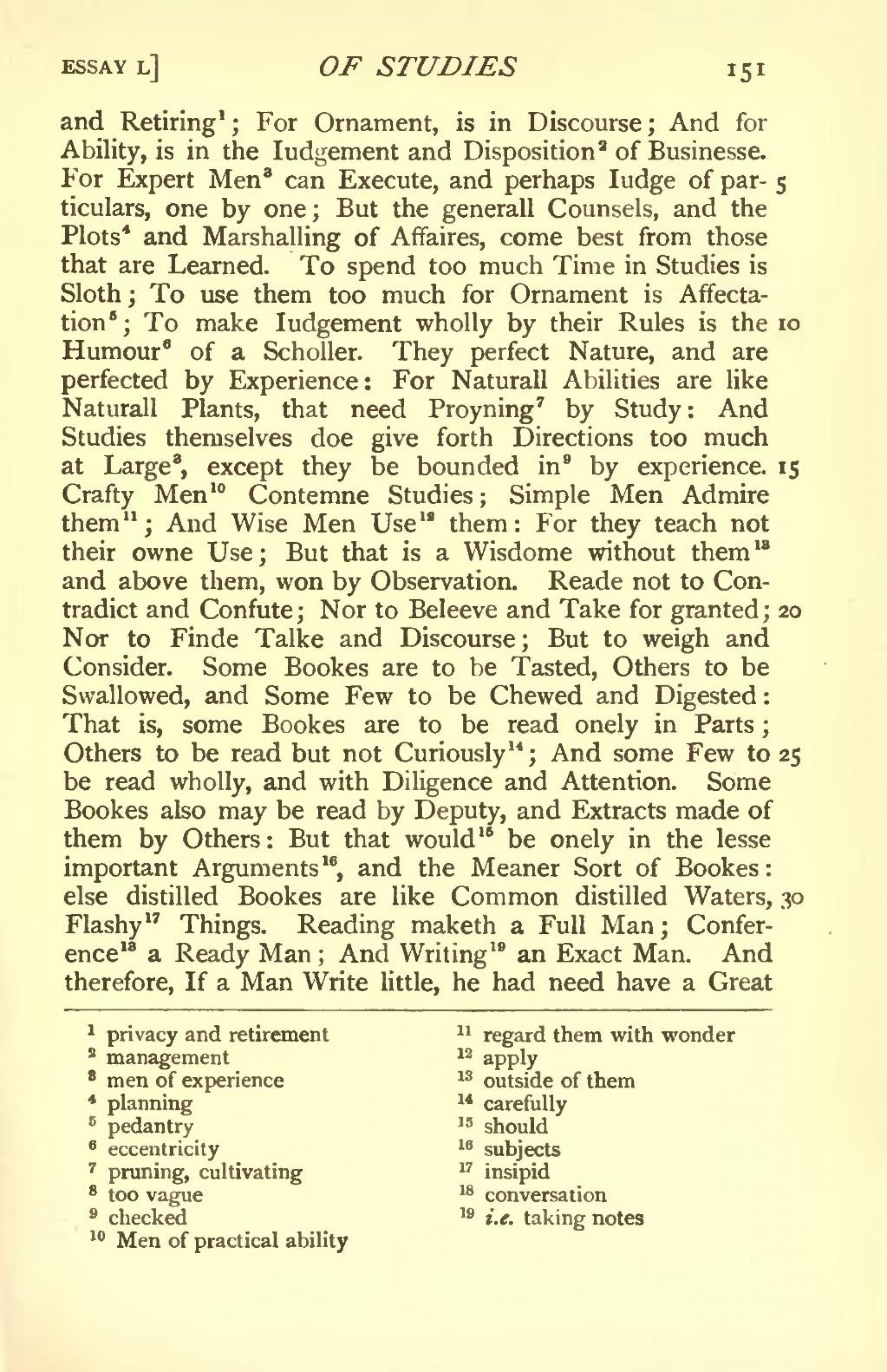 013 Essay Example Page175 1024px Bacons 1908 West Djvu Amazing Essays Bacon In Urdu Pdf Of Truth Summary 1920