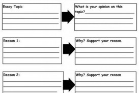 013 Essay Example Persuasive Graphic Amazing Organizer 3rd Grade 5th Middle School