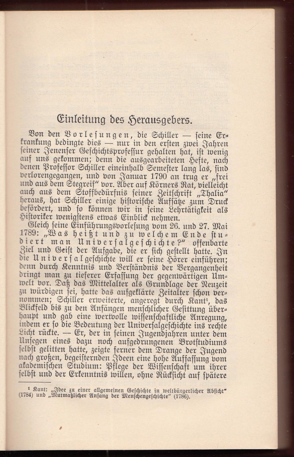 013 Essay Example Schiller Essays Friedrich Schriften Vol Werke Ger Philosophy History Awful Large