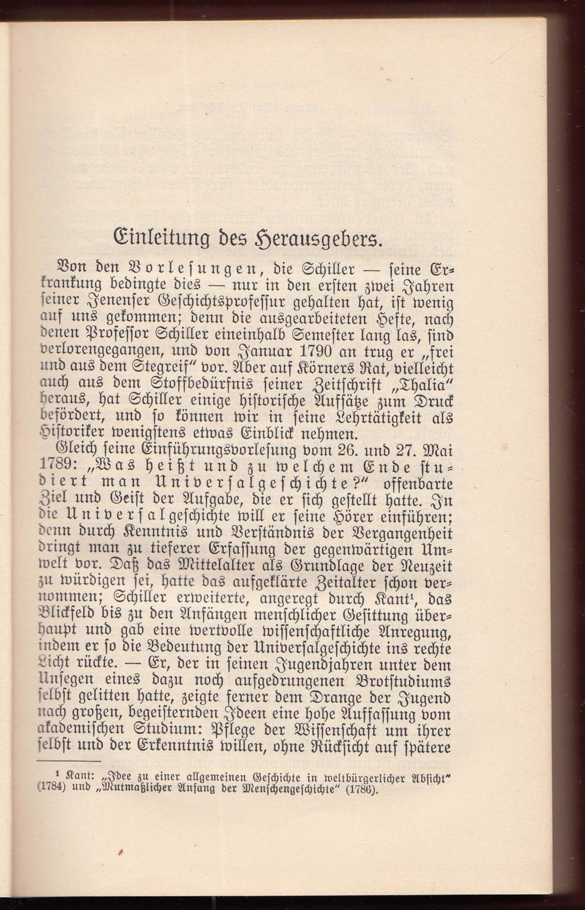 013 Essay Example Schiller Essays Friedrich Schriften Vol Werke Ger Philosophy History Awful 1920