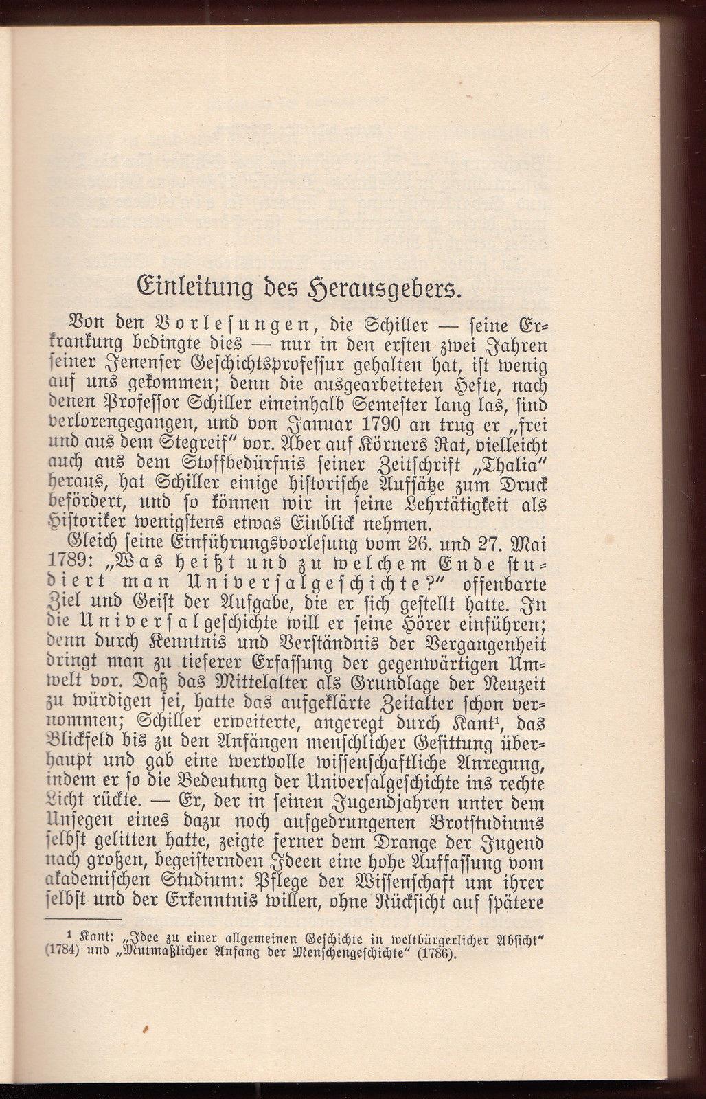 013 Essay Example Schiller Essays Friedrich Schriften Vol Werke Ger Philosophy History Awful Full
