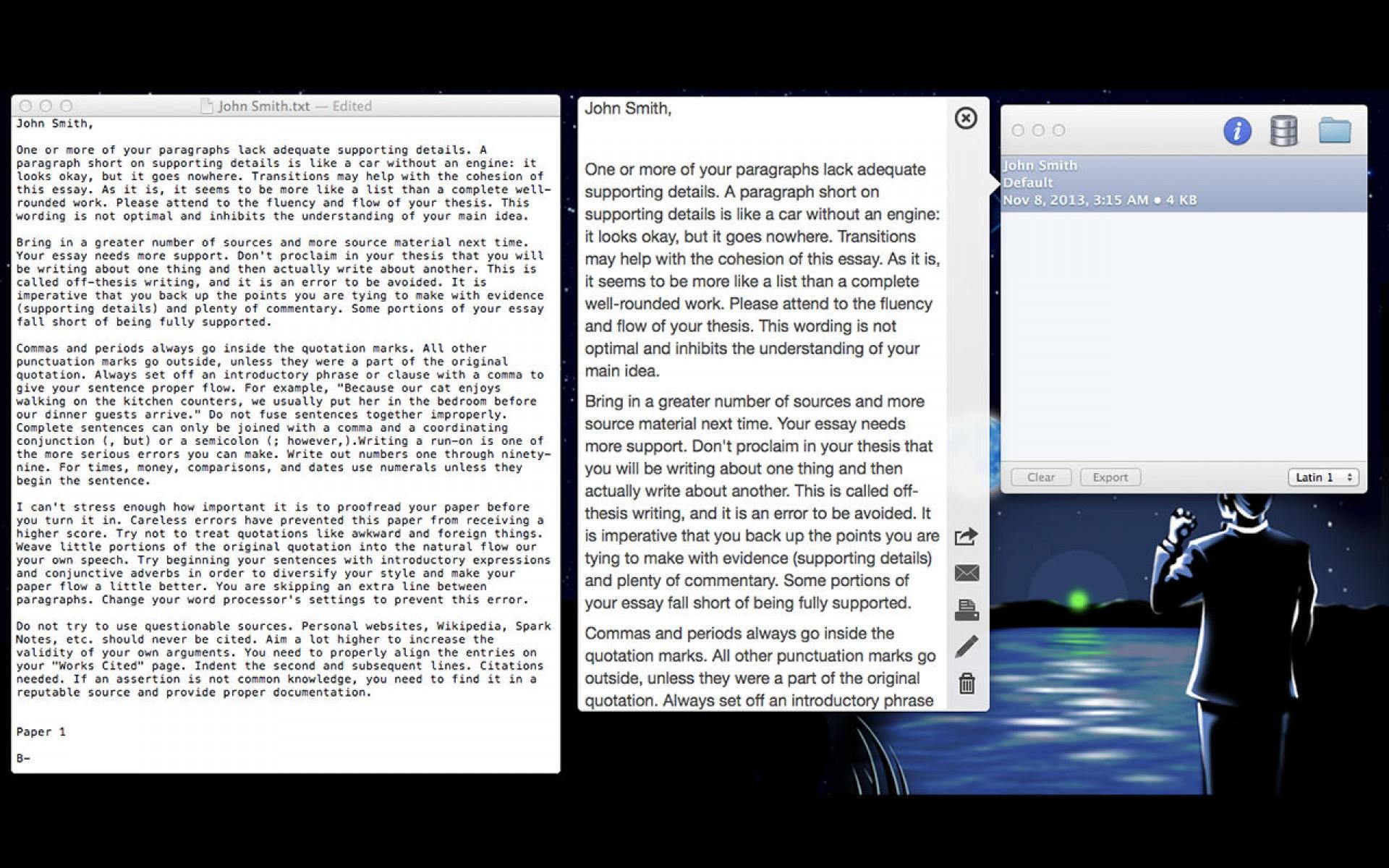 013 Essay Example Screen1280x800 Free Online Sensational Grader For Teachers Paper Students 1920